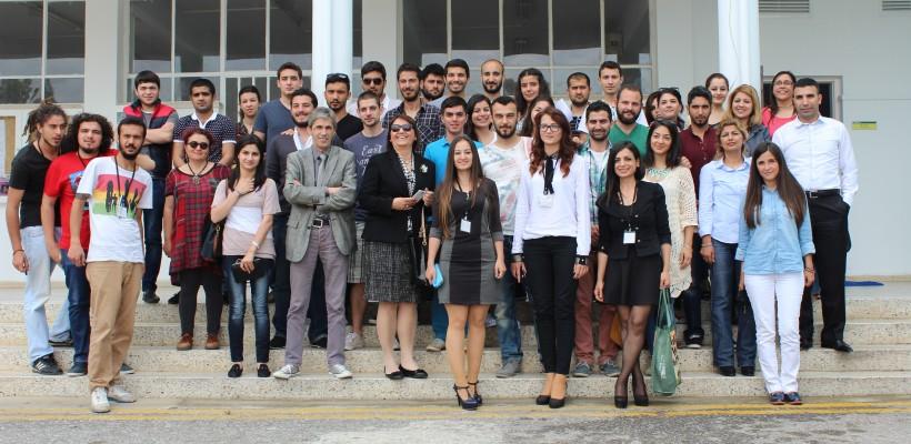 Doğu Akdeniz Üniversitesi'ndeydik…